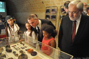 2015-08-20 Queuleu Visite Ministre 2 Caserne II 099