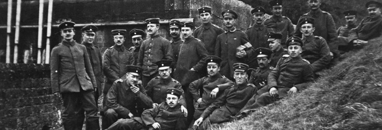 1914-1918 - un fort à l'arrière pendant la Grande Guerre